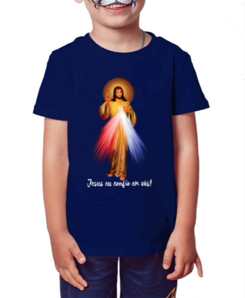 camisa infantil Jesus Misericordioso