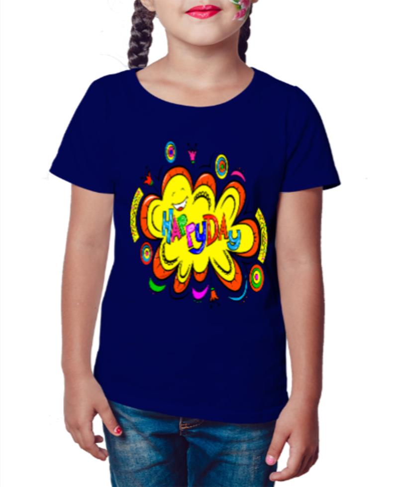 Camiseta Infantil Harpy day