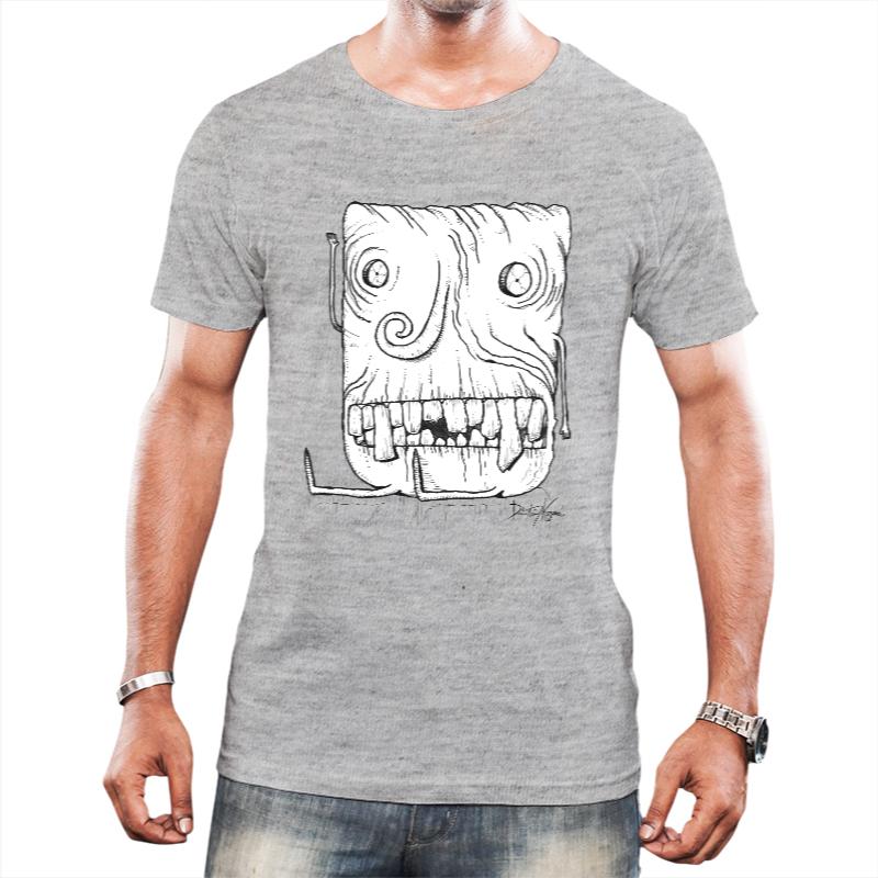 Camiseta Freaky Guy - Cinza
