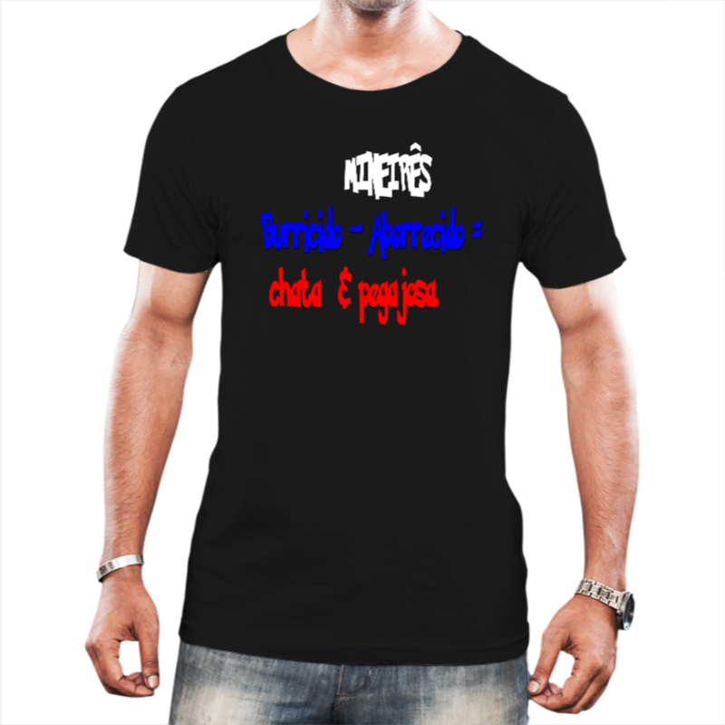 Camiseta Masculina Burricido