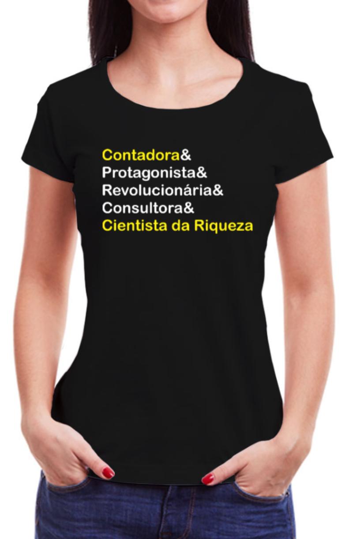 Camiseta Contabilidade