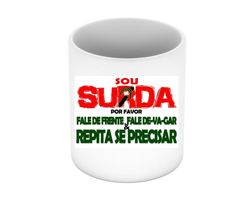 Caneca Surda Informativa
