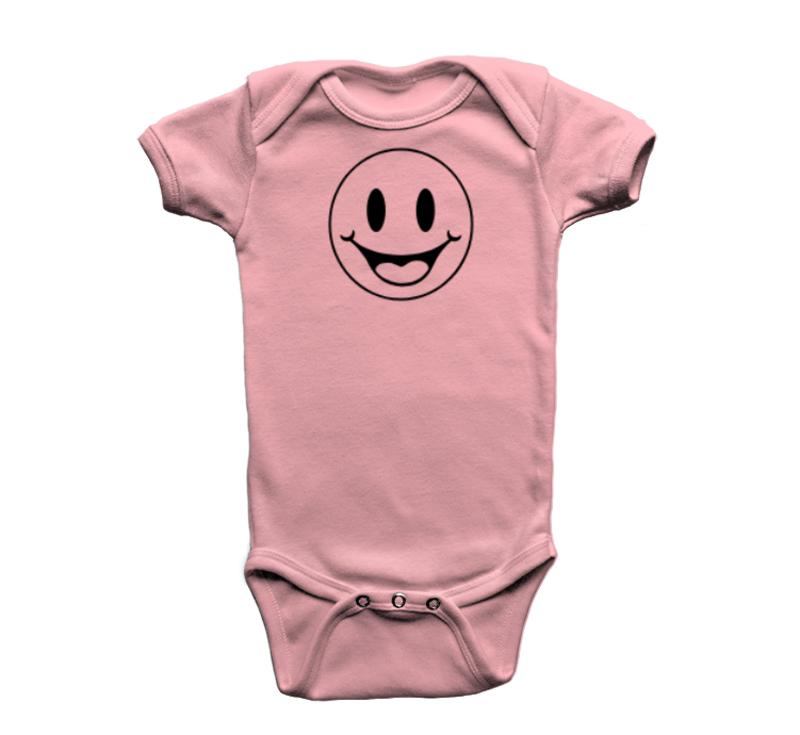 BODY INFANTIL ROSA SORRISO PIX