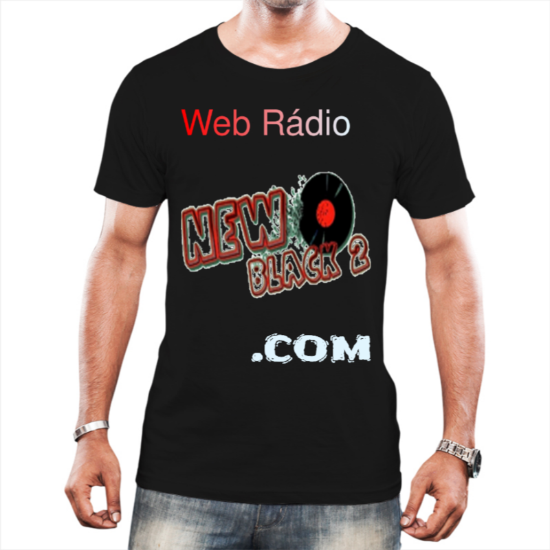NB2 - Web Rádio New Black 2 - Camiseta Preta