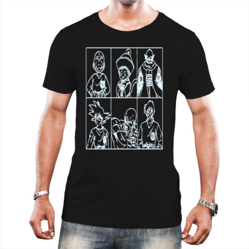 Camiseta Masculina Dragons