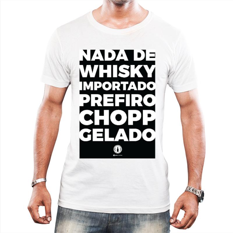 Camiseta CHOPP GELADO - Branca