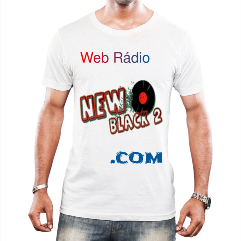 NB2 - Web Rádio New Black 2 - Camiseta Branca