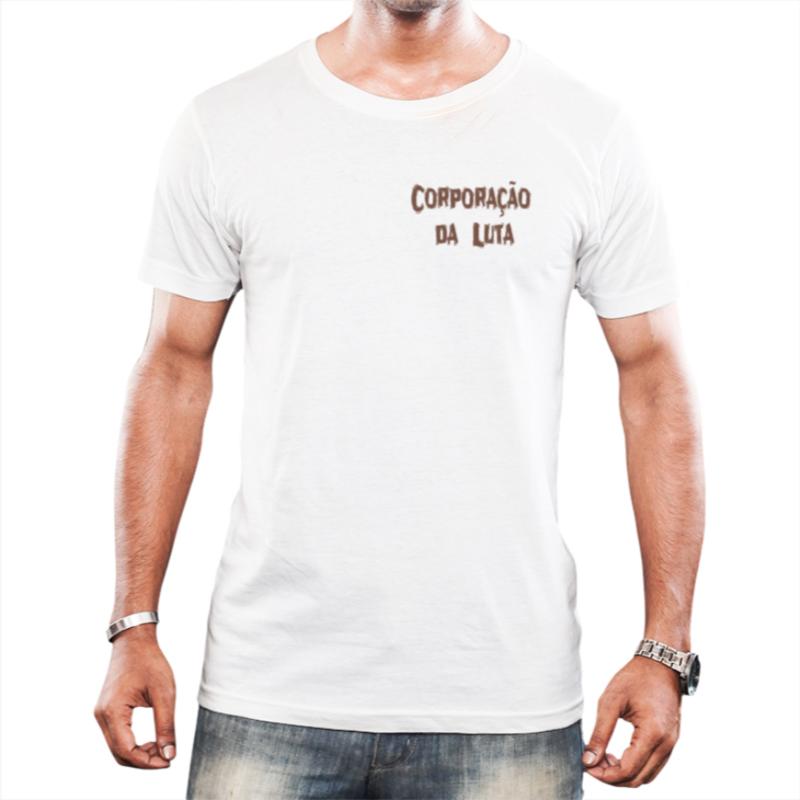 Camisa Tradicional Masculina Branca Corporação