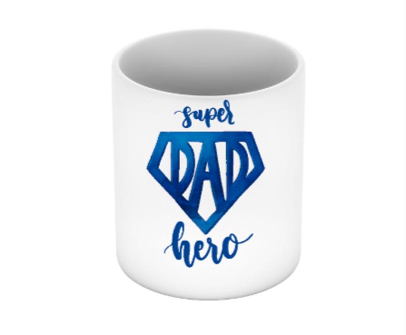 Caneca Super Dad Hero