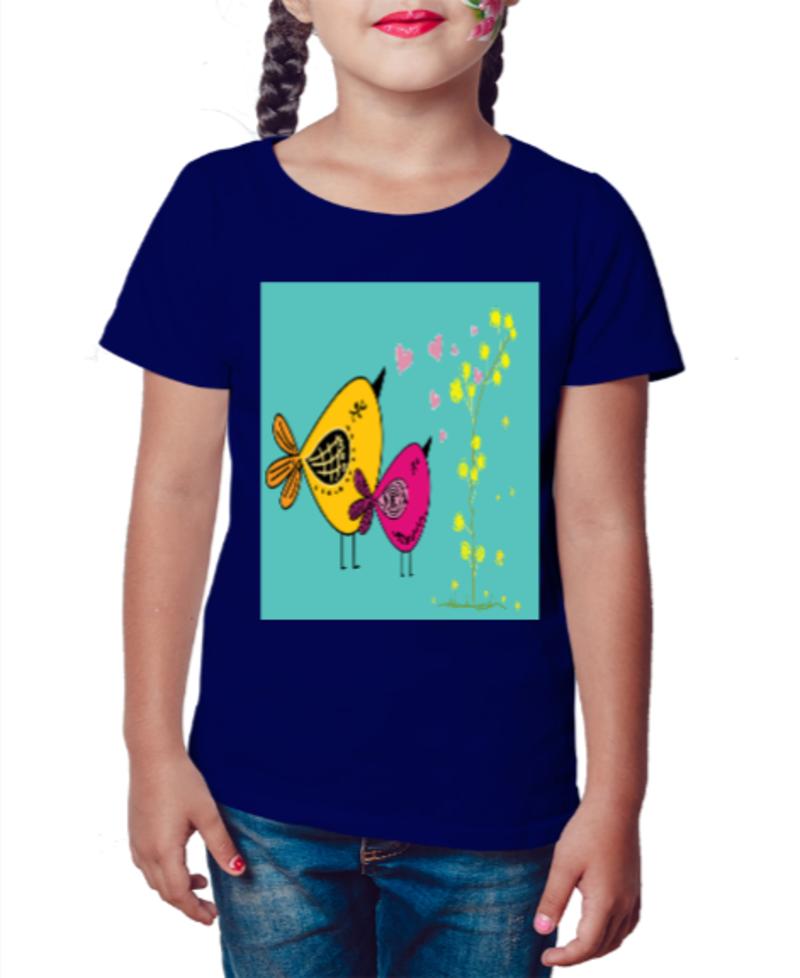 Camiseta Infantil Bird