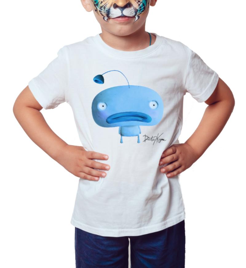 Carpe Diem Blue - Série Toy Arte - Camiseta Infantil Azul