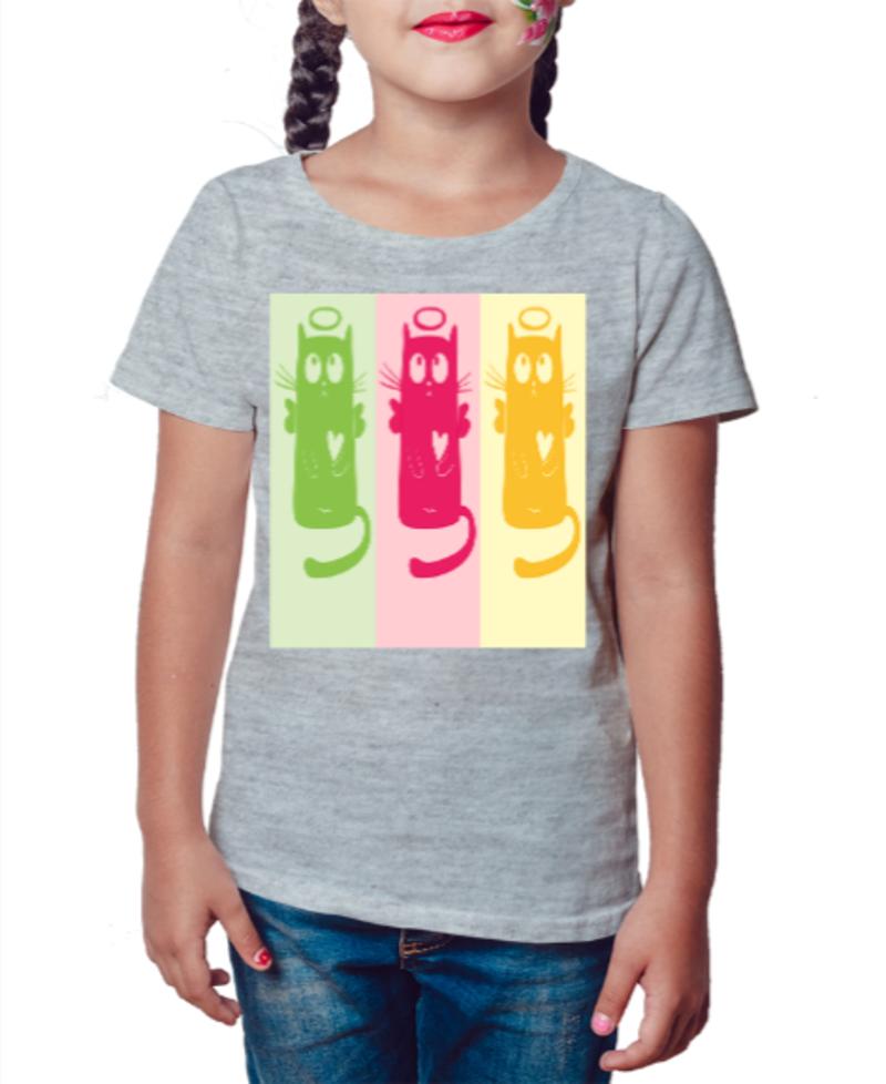 Camiseta Infantil Cat