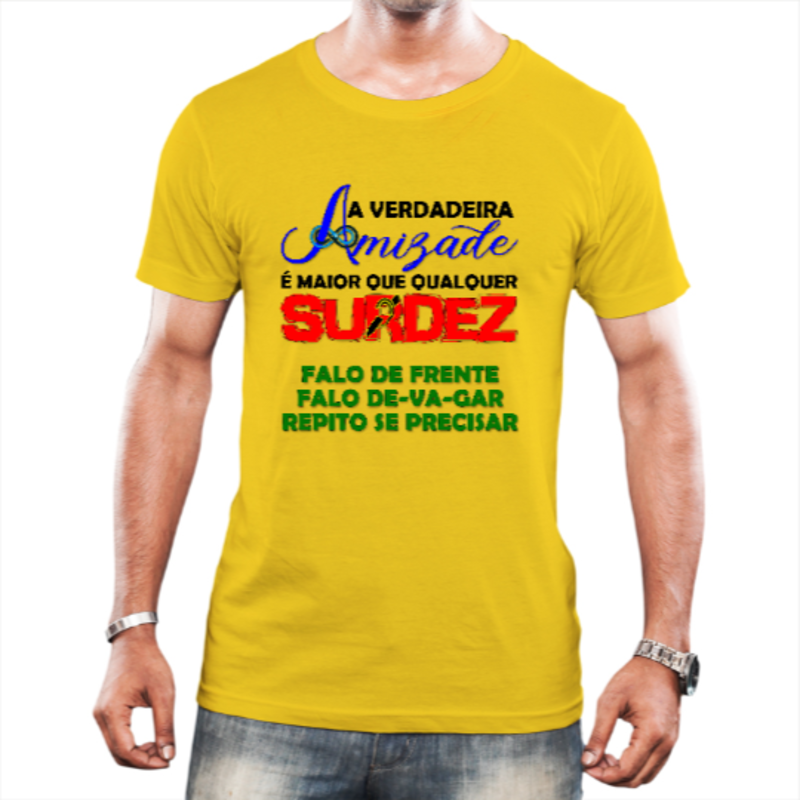 Amigo de Surdo (Amarela)