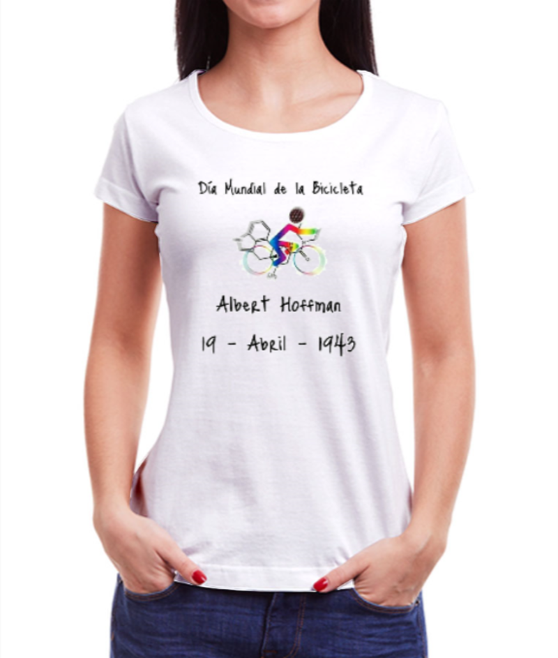 Camiseta Feminina - Bike Day