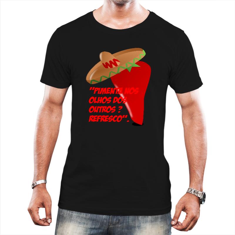 Camiseta Masculina Pimenta