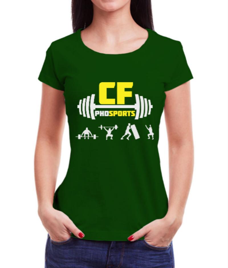 CAMISETA CFPHD SPORTS - VERDE - #KALIMA