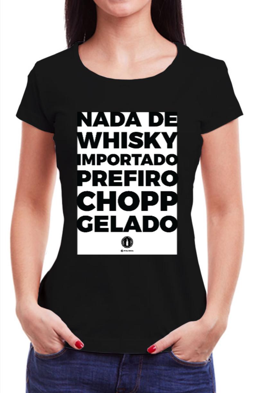 Babylook CHOPP GELADO - Preta