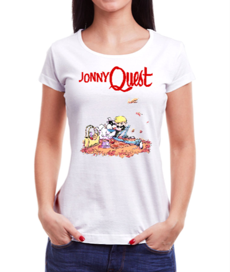 JOHNNY QUEST by rick draws