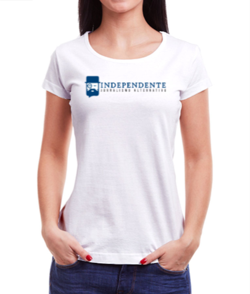 Camiseta Independente - Feminina