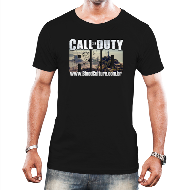 Camisa Call of Duty Rio BOPE