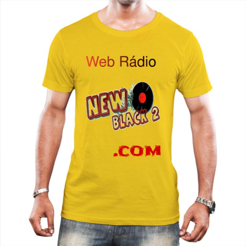 NB2 - Web Rádio New Black 2 - Camiseta Amarela