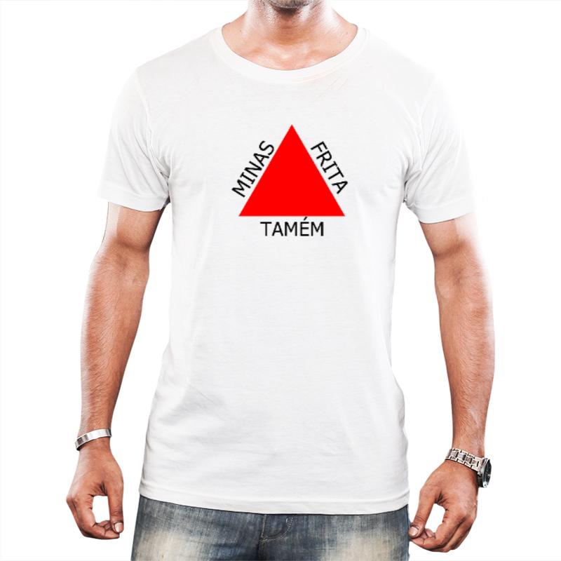 Camiseta - Minas frita tamém