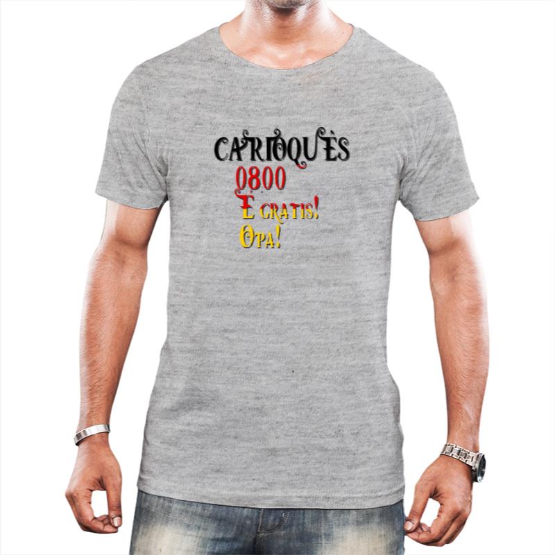 Camiseta Masculina  0800