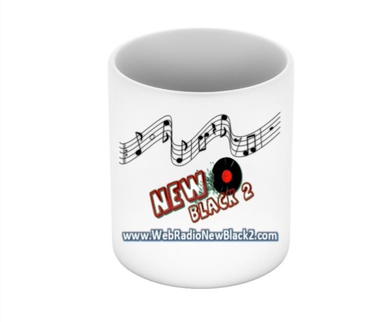 NB2 - Web Rádio New Black 2 - Caneca