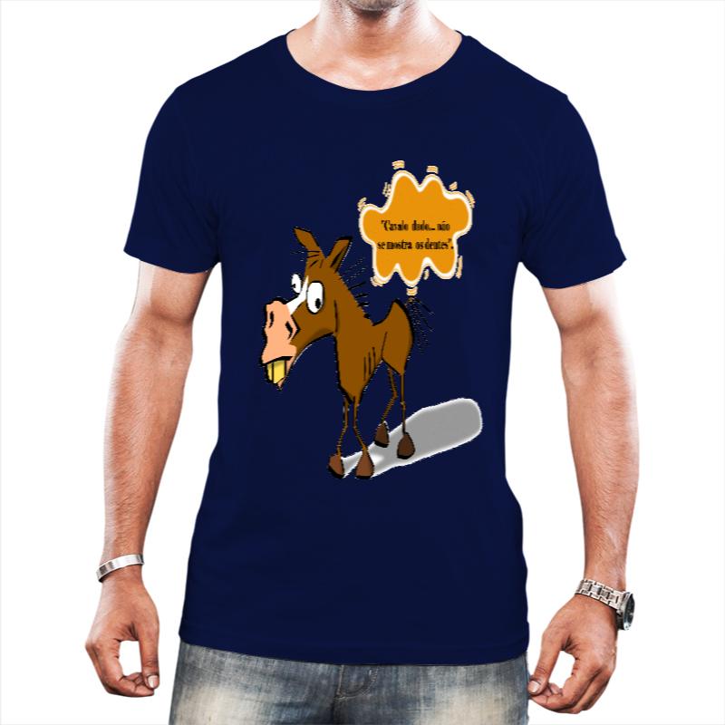 Camiseta Masculina Cavalo Dado