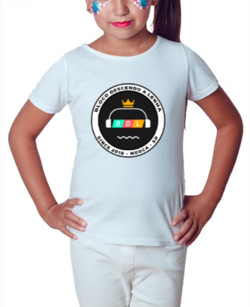 Camiseta BDL - Branca - Infantil
