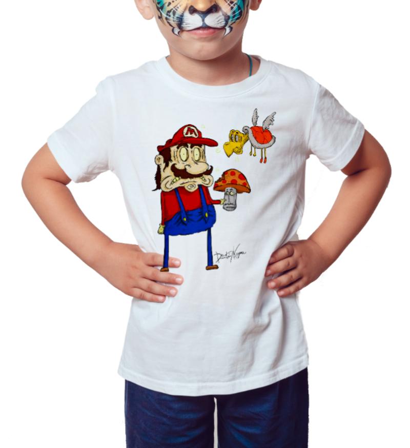 Camiseta Infantil O ENCANADOR - Branca
