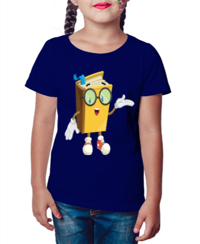 Camiseta Infantil Leitura