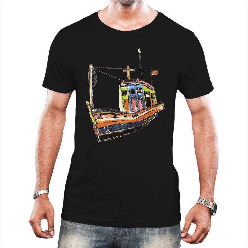 Barco em Caraiva