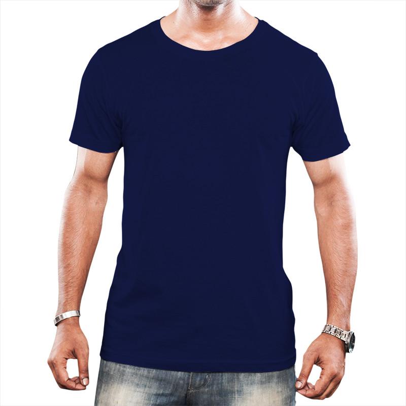 Camiseta Tradicional Azul Marinho
