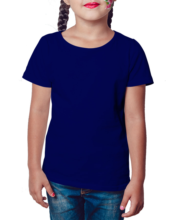 Camiseta Infantil Azul Marinho