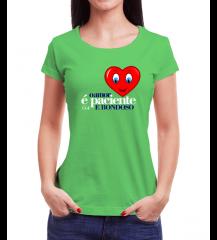 Camiseta Amor Verde