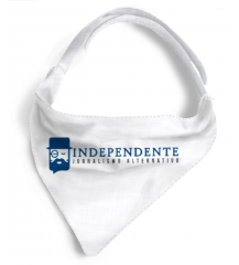 Bandana para cachorro do Independente