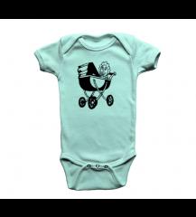 BODY INFANTIL CARRINHO PIX AZUL