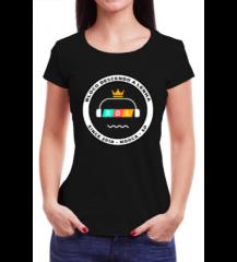 Camiseta BDL - Preta - Feminina