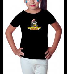 Camiseta Infantil Feminina - Galinha