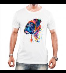 Camiseta Dog - Boxer