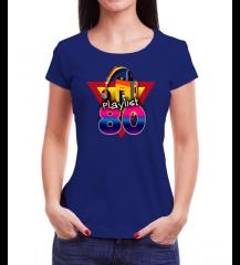 Camiseta ParadaHits Feminina Playlist Walkman