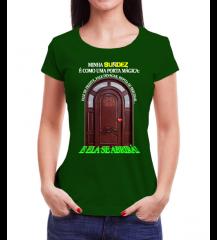 Porta Mágica (Feminina Verde)