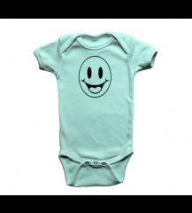 BODY INFANTIL AZUL SORRISO  PIX