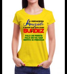 Amiga de Surdo (Amarela)