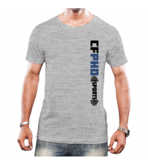 CAMISETA CFPHD SPORTS - CINZA - #COSTELA