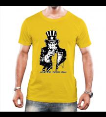 Camiseta Masculina Tio Sam