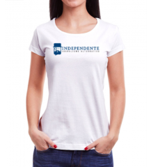 Camiseta Independente - Feminina