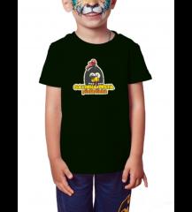 Camiseta Infantil Masculina - Galinha
