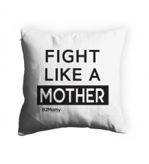 Fight Like a Mother (cor branco)
